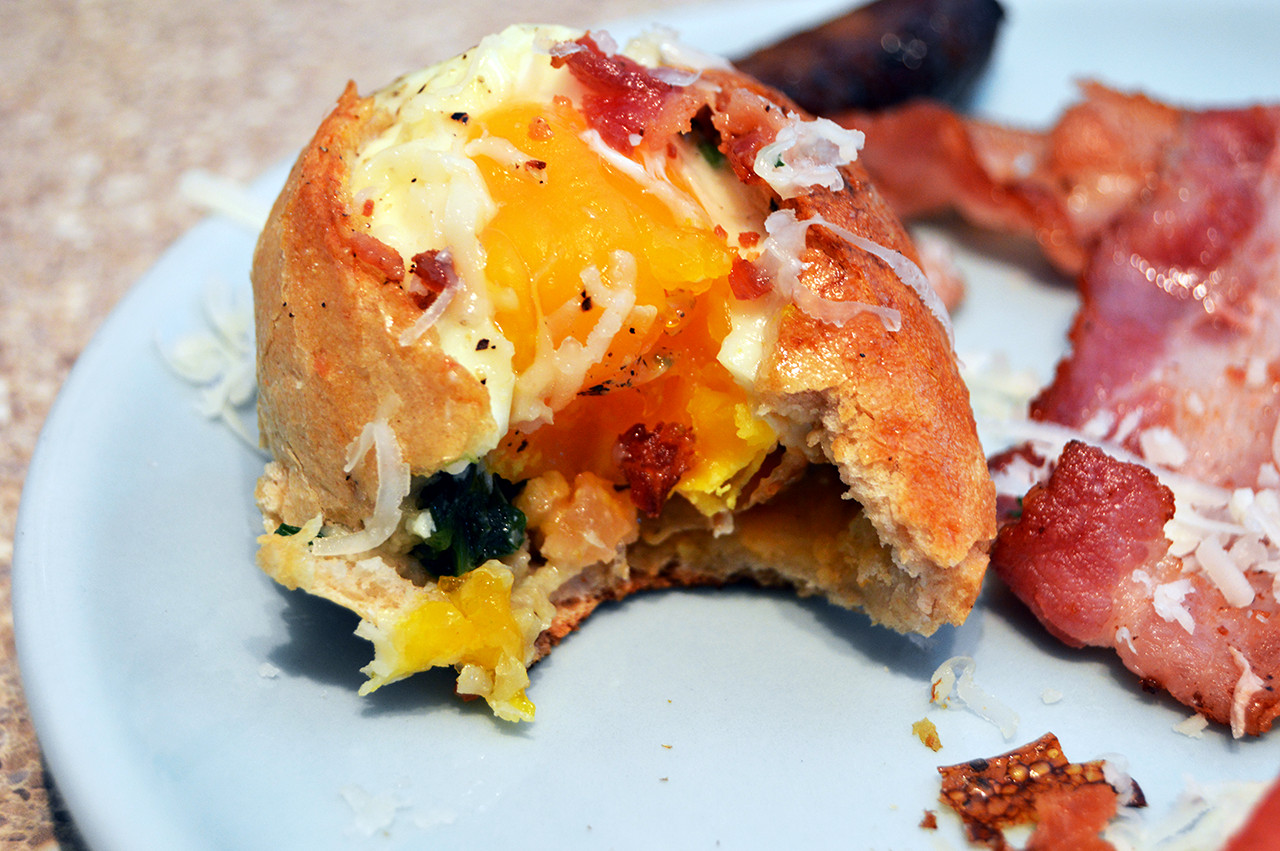 Breakfast Bread Bowl  Breakfast Bread Bowls The Starving Chef