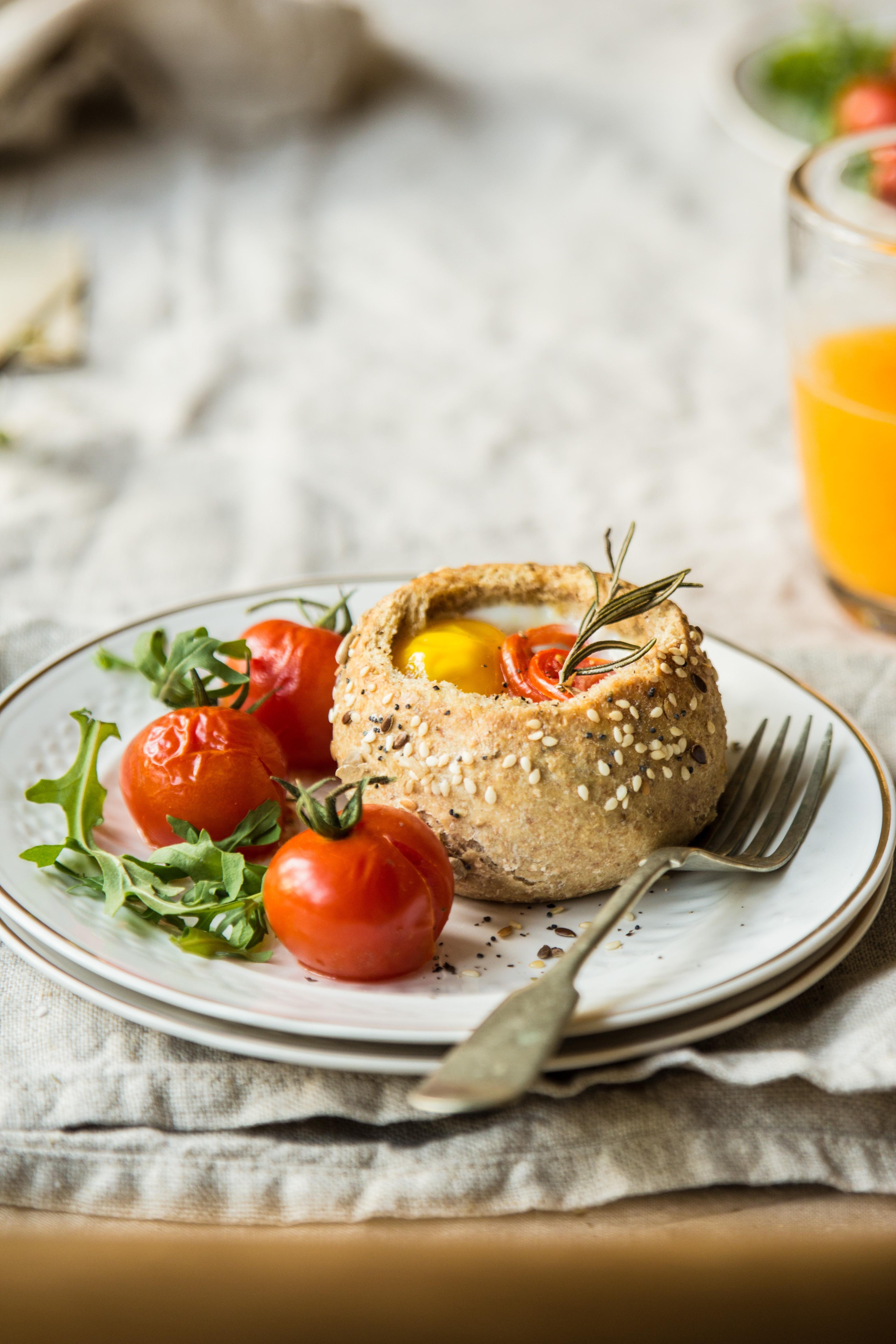 Breakfast Bread Bowl  Breakfast bread bowls Bea s cookbook