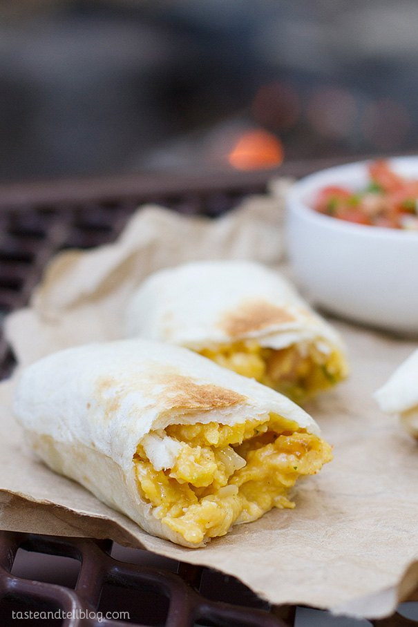 Breakfast Burritos For A Crowd  32 Quick And Healthy Campfire Breakfast Recipes For A Crowd