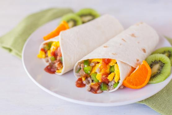 Breakfast Burritos Recipe  Breakfast Burrito Recipe Genius Kitchen