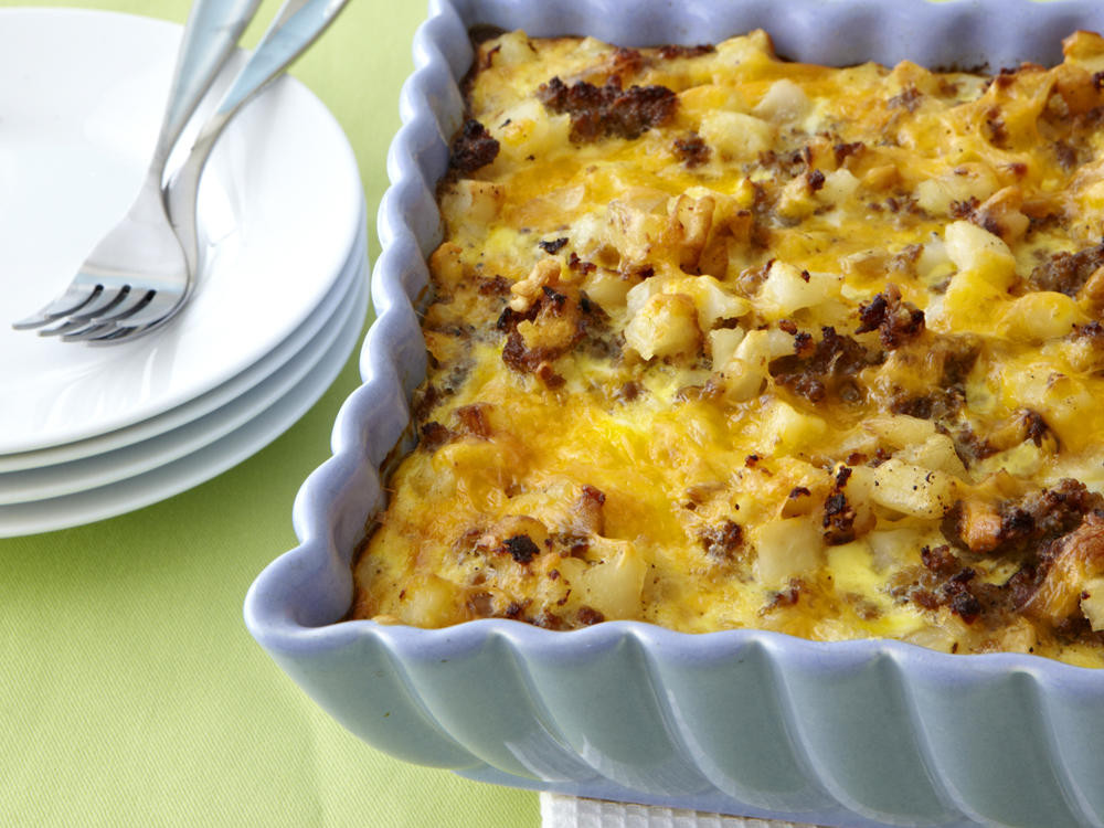 Breakfast Casserole Recipes With Sausage  Sausage Hash Brown Breakfast Casserole Recipe