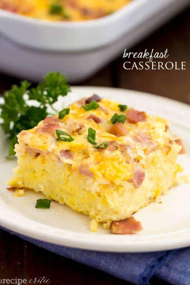 Breakfast Casseroles Recipes  The Best Breakfast Casserole