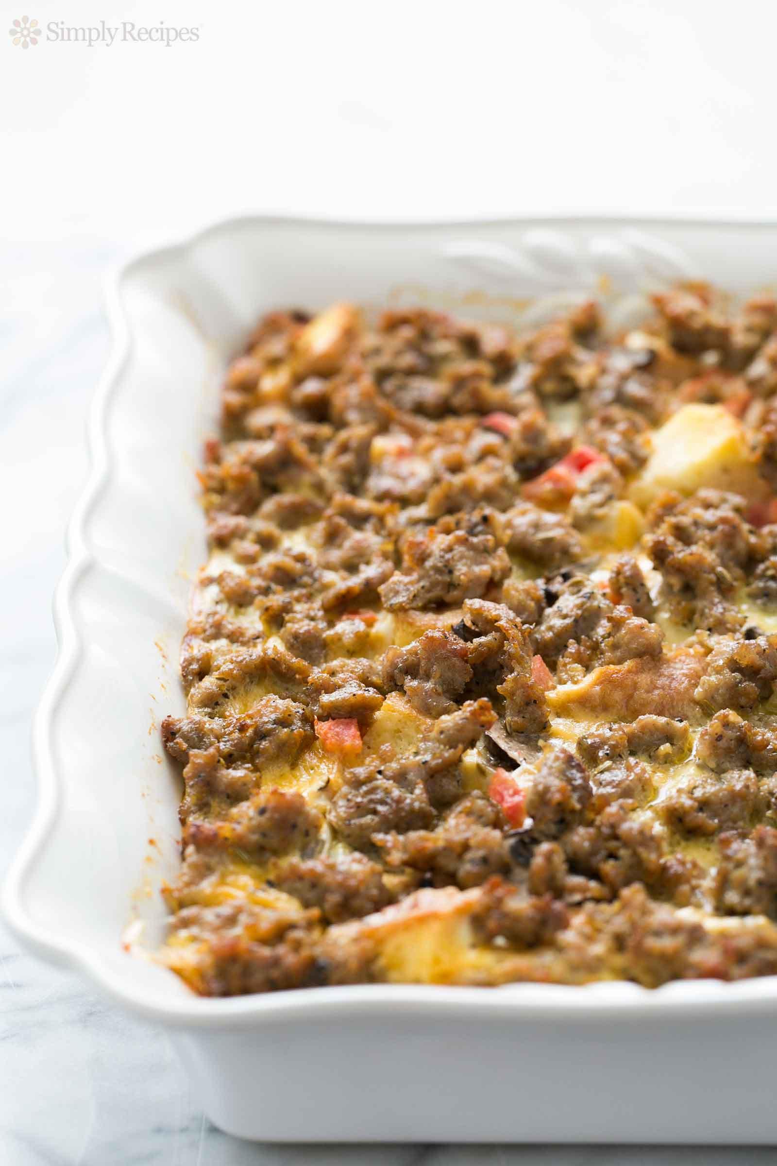 Breakfast Casseroles Recipes  Sausage Breakfast Casserole Recipe