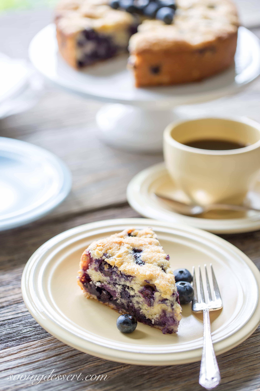 Breakfast Coffee Cake  Blueberry Breakfast Cake Saving Room for Dessert