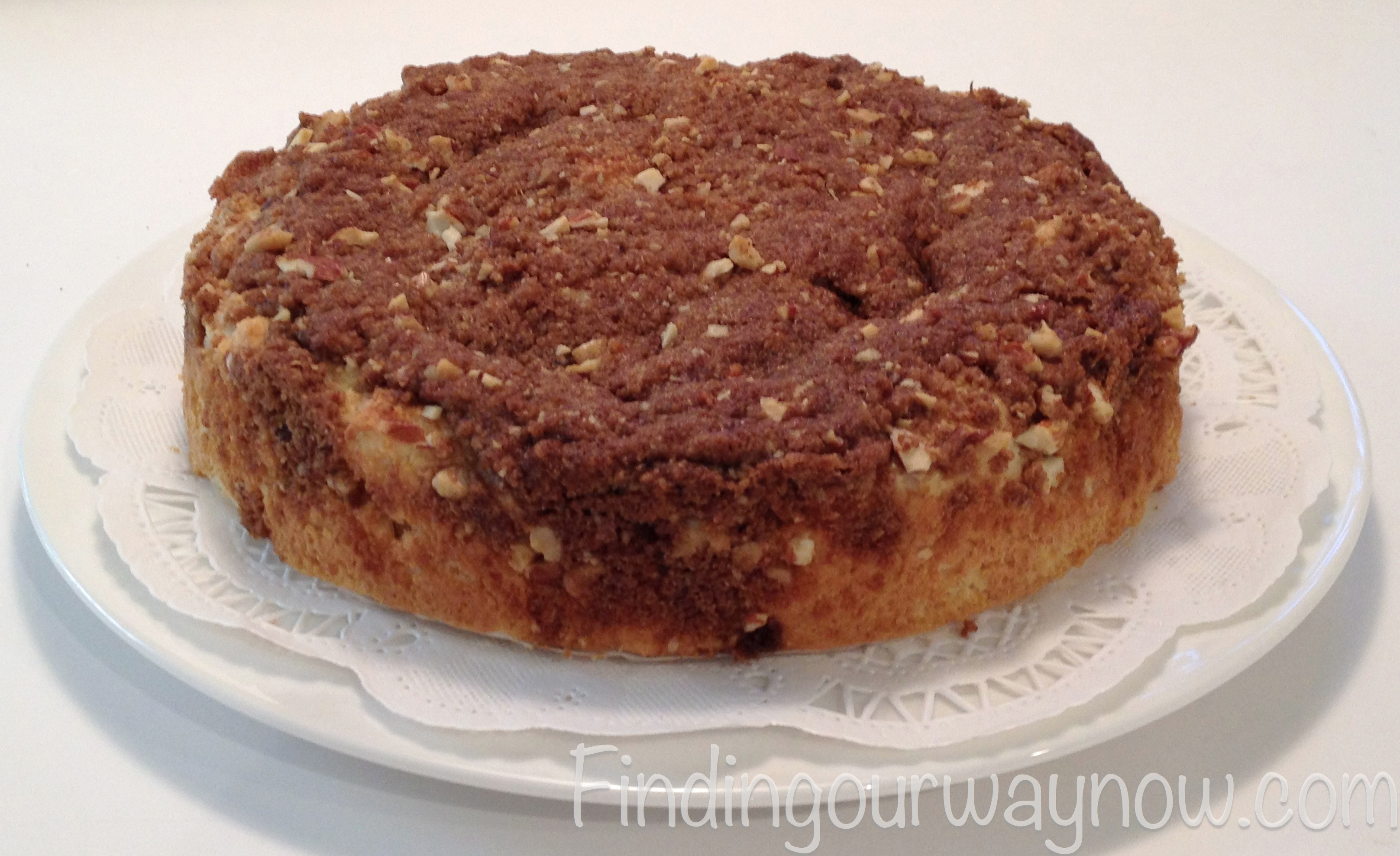 Breakfast Coffee Cake  Easy Breakfast Coffee Cake Recipe Finding Our Way Now