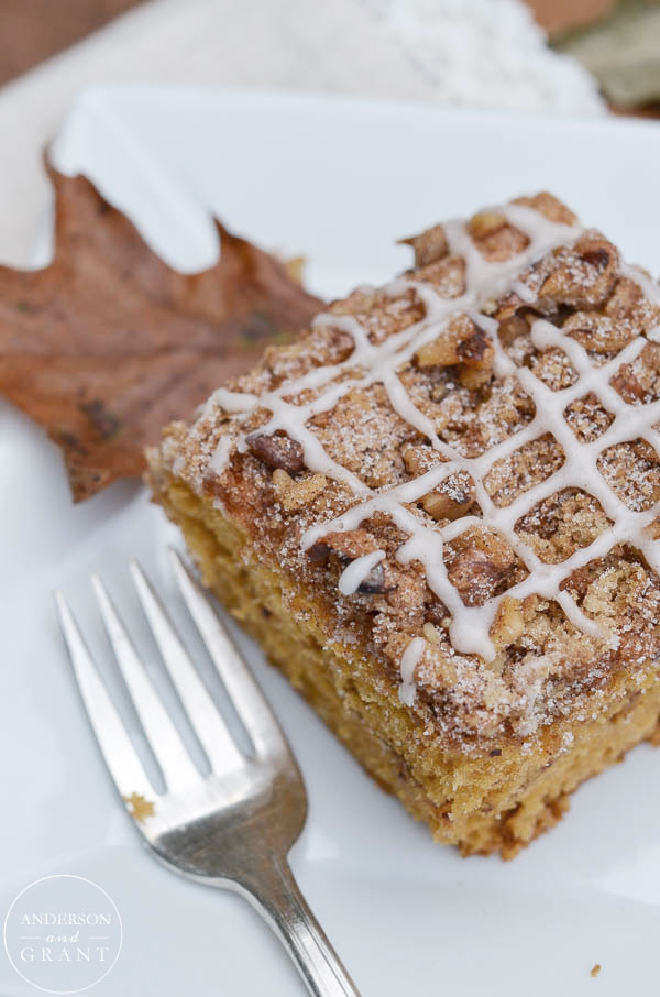 Breakfast Coffee Cake  Beth s Favorite Recipes Spice Pumpkin Coffee Cake