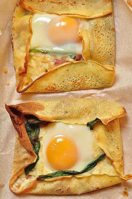 Breakfast Crepes Recipe  17 Best images about Crepes on Pinterest