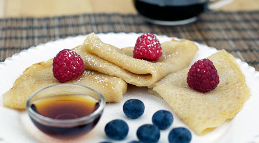 Breakfast Crepes Recipe  no egg breakfast recipes