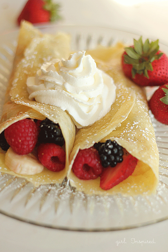 Breakfast Crepes Recipe  Amazing Crepe Recipe Crepes Jessica Maine Blog