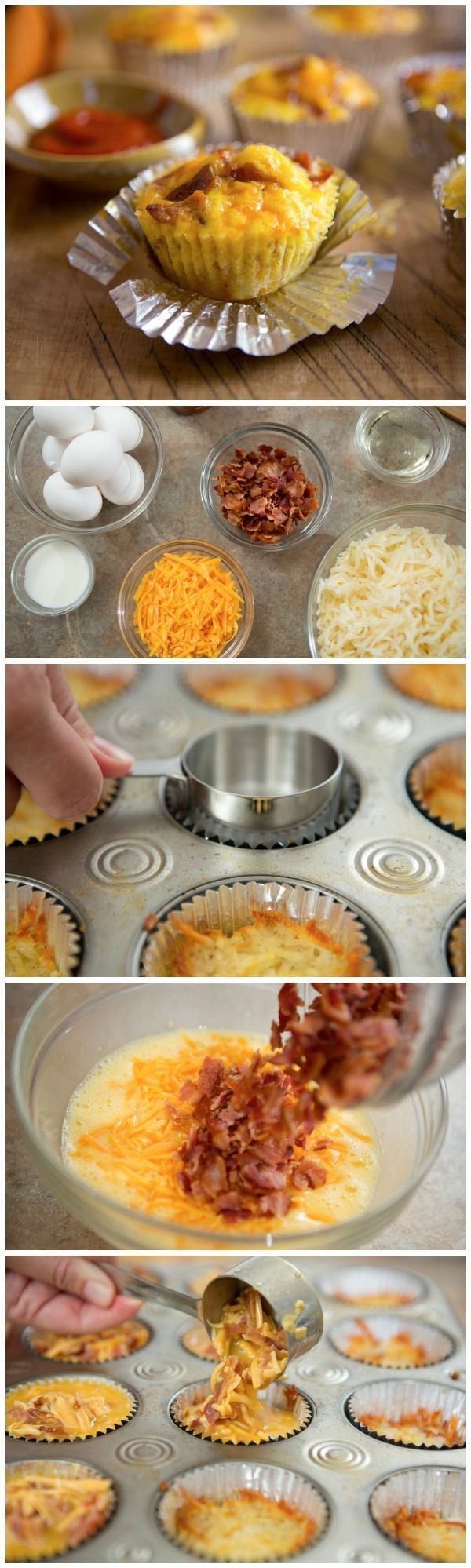 Breakfast Cupcakes Egg  1000 images about Breakfast stuffs on Pinterest