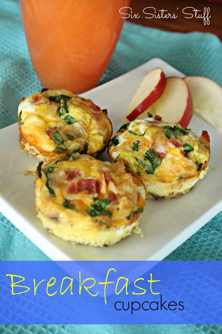 Breakfast Cupcakes Egg  37 best Muffin Tin Dinners images on Pinterest