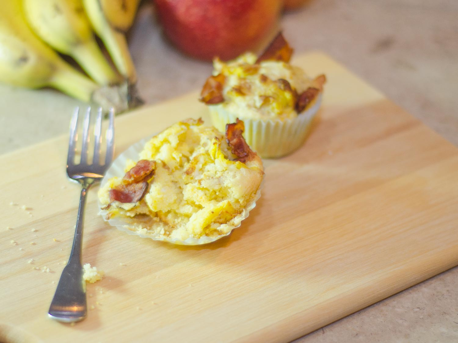 Breakfast Cupcakes Egg  Cornbread Breakfast Muffins with Bacon and Eggs Simple