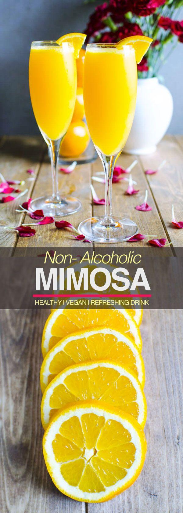 Breakfast Drinks Alcohol  Best 25 Non alcoholic mimosa ideas on Pinterest