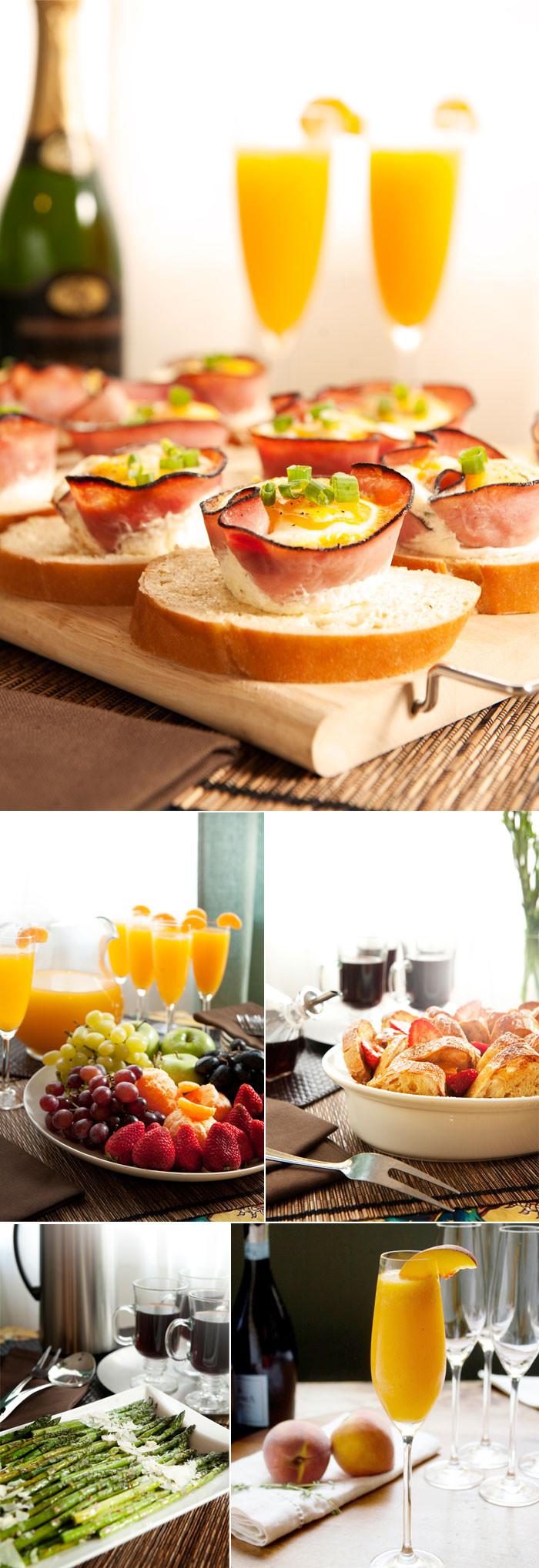 Breakfast Food Recipes  Hosting an Engagement Brunch