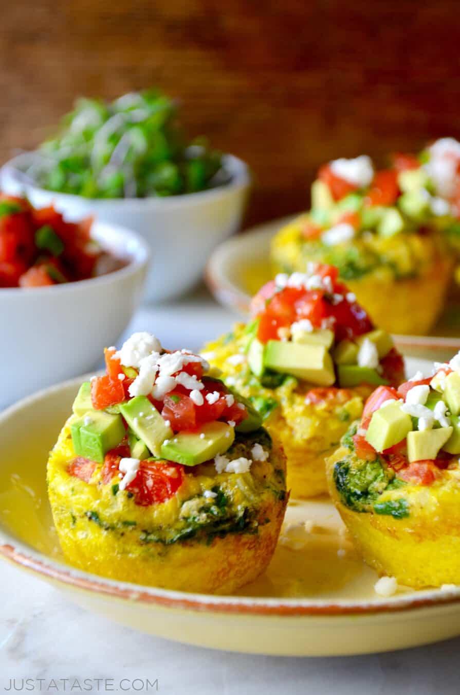Breakfast Food Recipes  Healthy Breakfast Egg Muffins