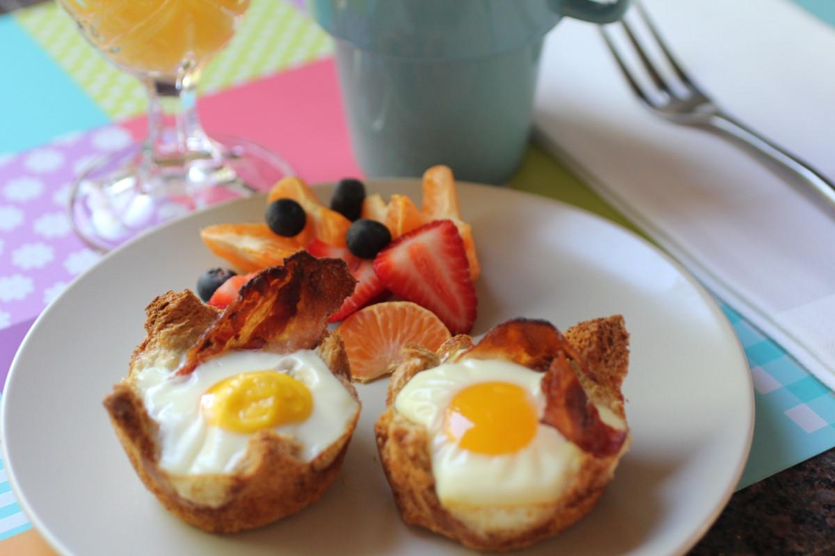Breakfast Food Recipes  Recipe For A Simple Breakfast