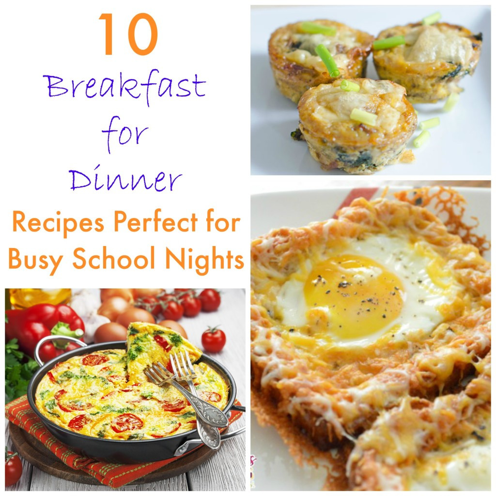 Breakfast For Dinner  10 Breakfast for Dinner Recipes for Busy School Nights