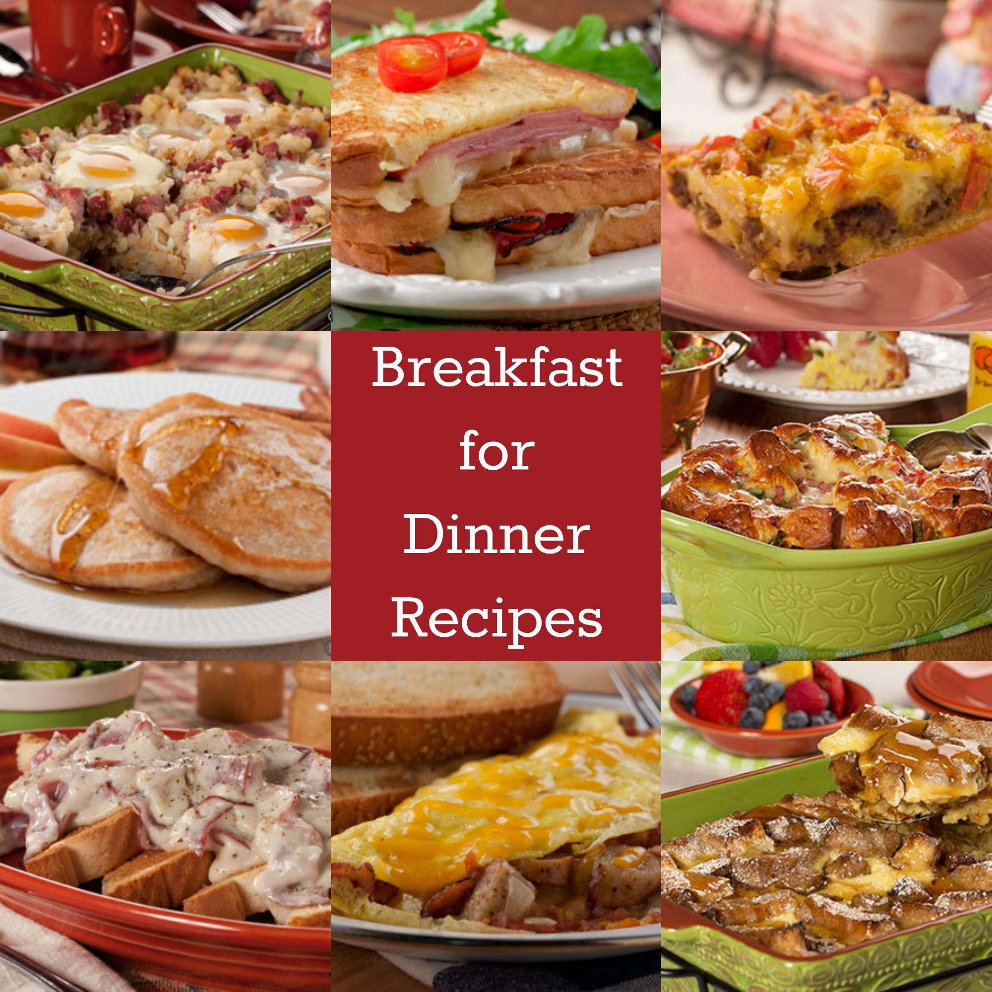 Breakfast For Dinner  Farmer s Skillet Breakfast & Other Breakfast for Dinner