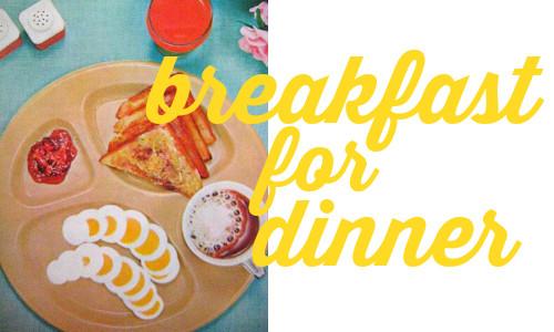 Breakfast For Dinner  Menu Plans Breakfast for Dinner Southern Savers