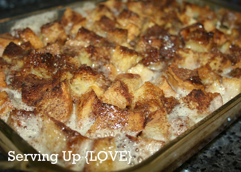 Breakfast French Toast Casserole  Katherine s Kitchen Serving Up Breakfast French Toast