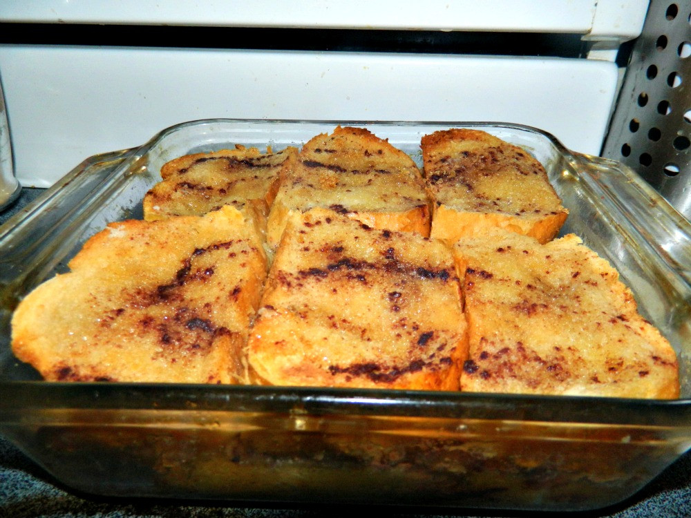 Breakfast French Toast Casserole  Chubby Vegan Mom Vegan french toast casserole bake