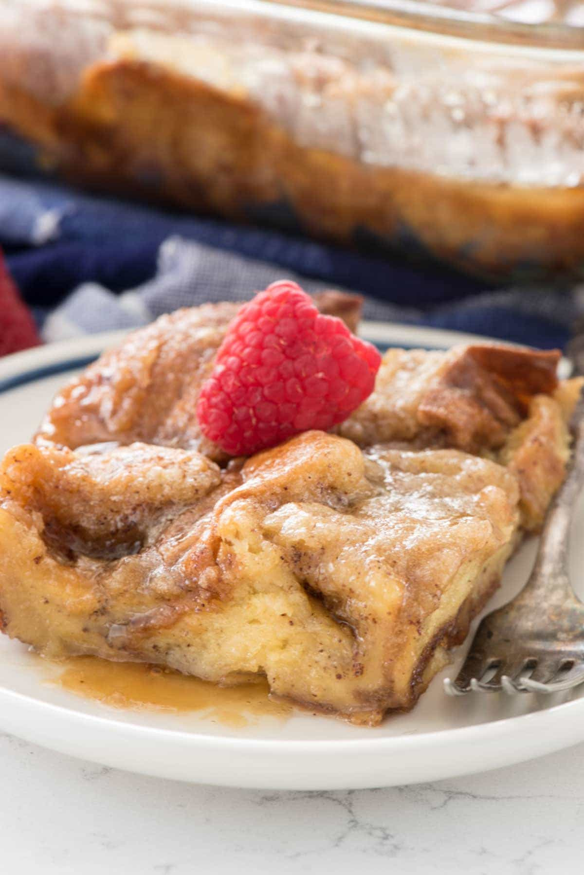 Breakfast French Toast Casserole  Overnight Monkey Bread French Toast Casserole Crazy for