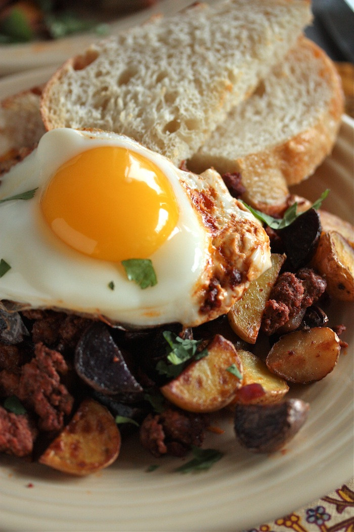 Breakfast Hash Recipes  Chorizo Breakfast Hash recipe