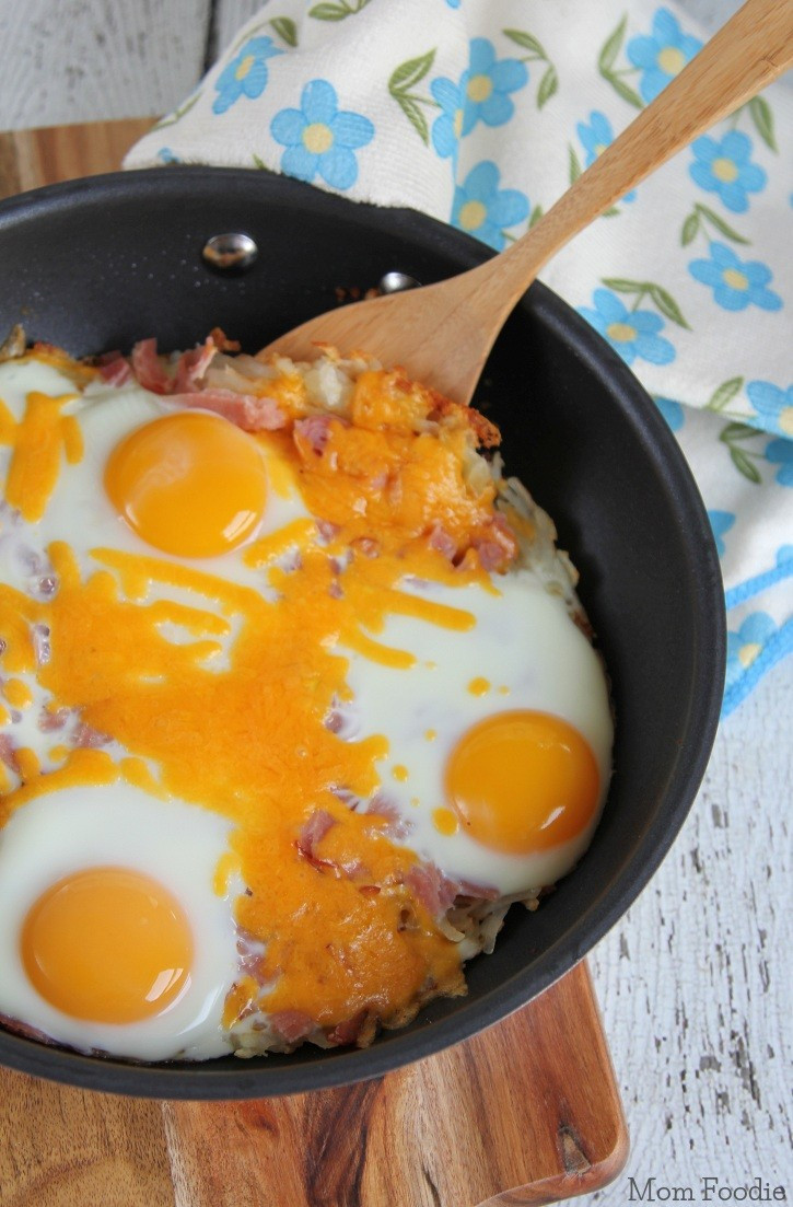 Breakfast Hash Recipes  Hash Brown Breakfast Skillet Recipe Mom Foo