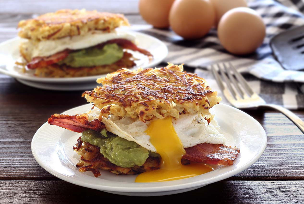 Breakfast Hash Recipes  Paleo Breakfast Hash Brown Sliders