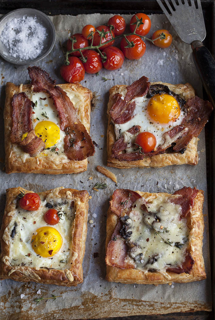 Breakfast Ideas With Eggs And Bacon  bacon and egg breakfast pies