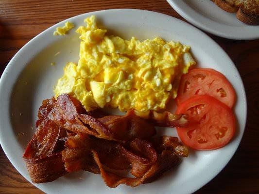 Breakfast Ideas With Eggs And Bacon  Keto Breakfast Bacon & Eggs