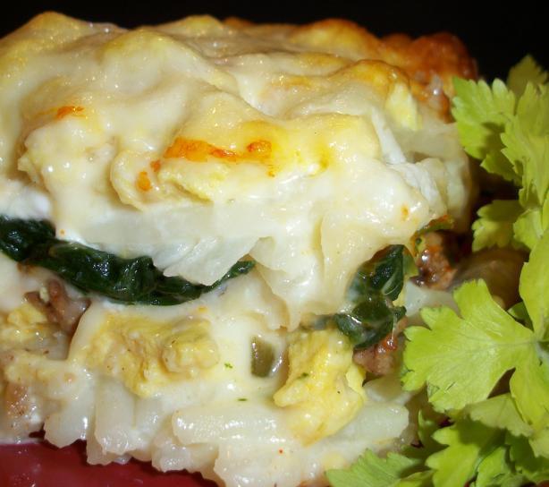 Breakfast Lasagna Recipe  Simply Breakfast Lasagna Recipe Food