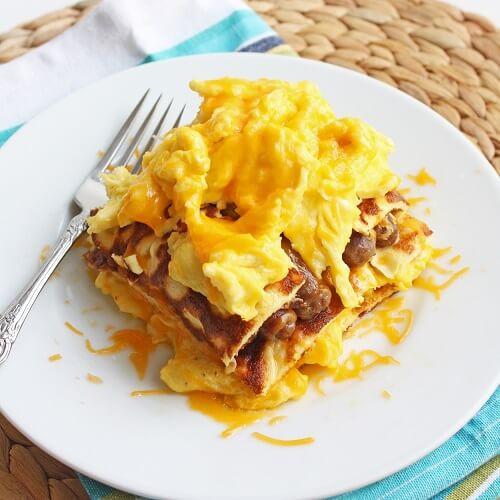 Breakfast Lasagna Recipe  Low Carb Breakfast Lasagna Gluten Free