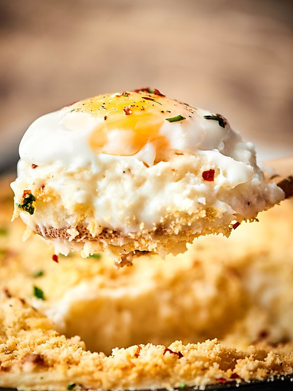 Breakfast Mashed Potatoes  Breakfast Mashed Potato Casserole w Sausage & Cream Cheese