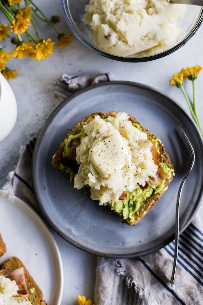 Breakfast Mashed Potatoes  Leftover Mashed Potato Breakfast Toast