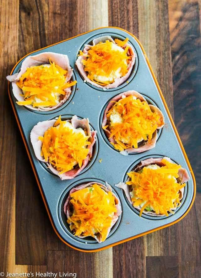 Breakfast Mashed Potatoes  Ham Mashed Potato Breakfast Cups Recipe Jeanette s