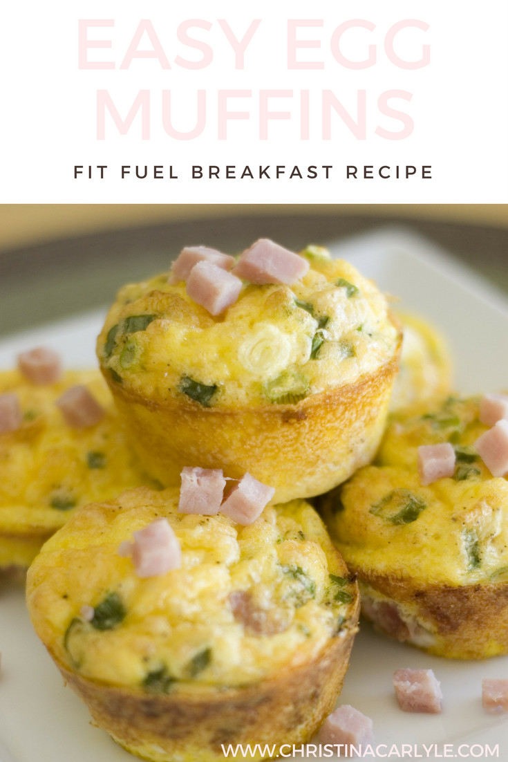 Breakfast Muffin Recipe  Breakfast Egg Muffins Recipe
