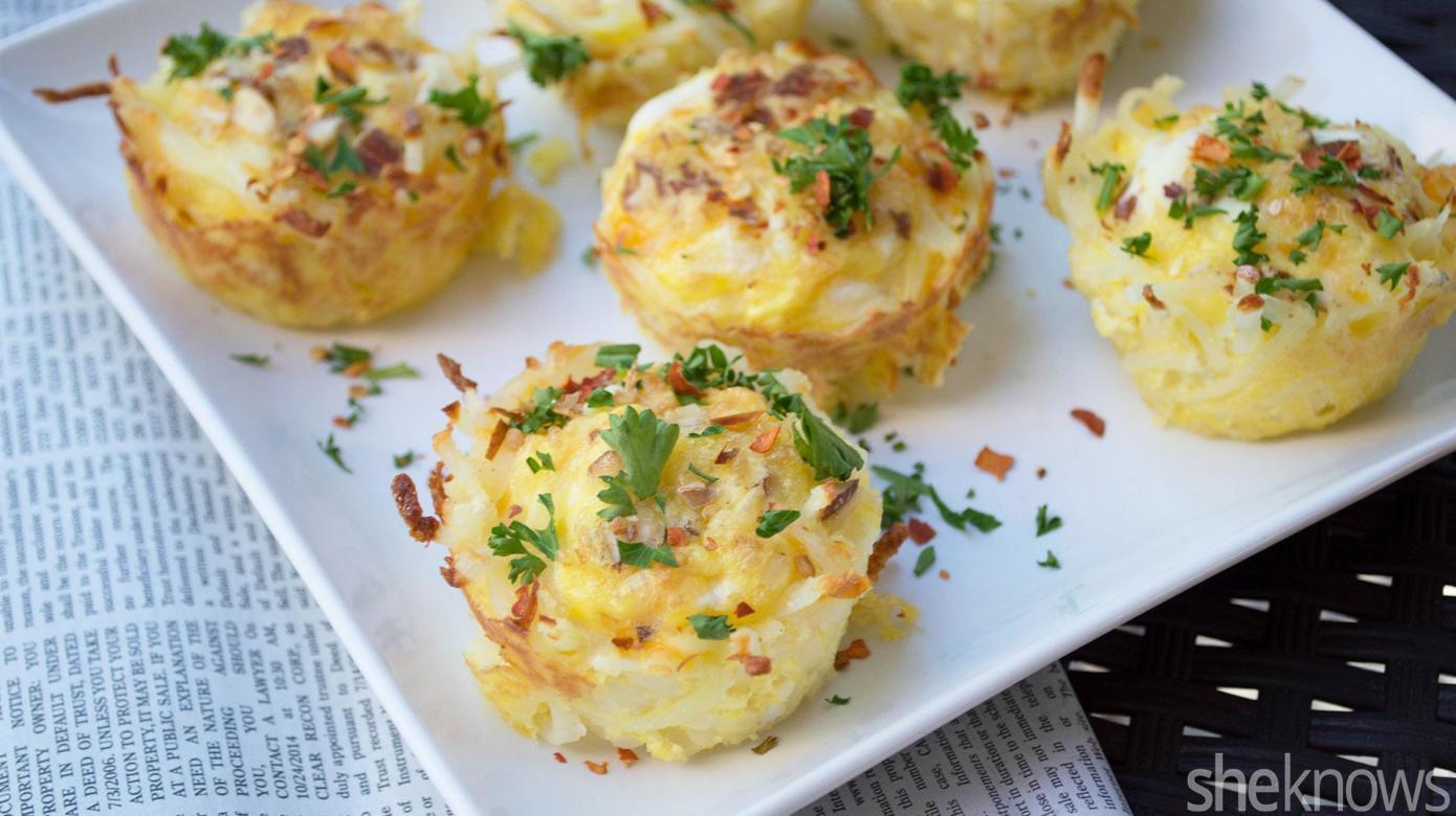 Breakfast Muffin Recipe  mini breakfast muffins