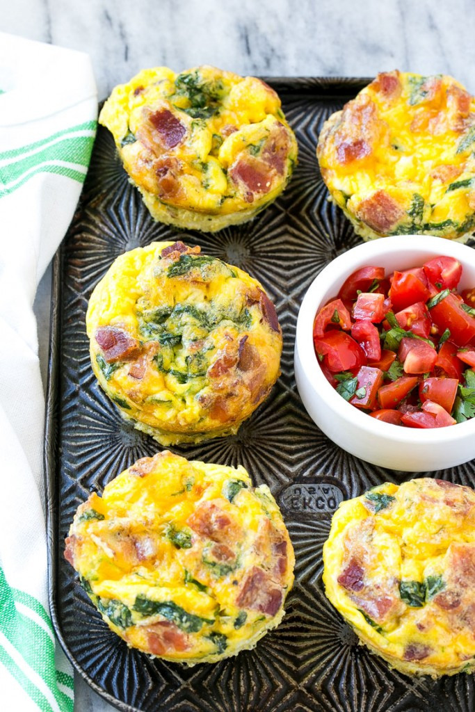 Breakfast Muffin Recipe  Breakfast Egg Muffins Dinner at the Zoo