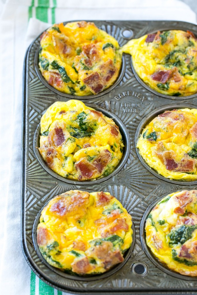 Breakfast Muffin Recipe  breakfast egg muffins with bacon