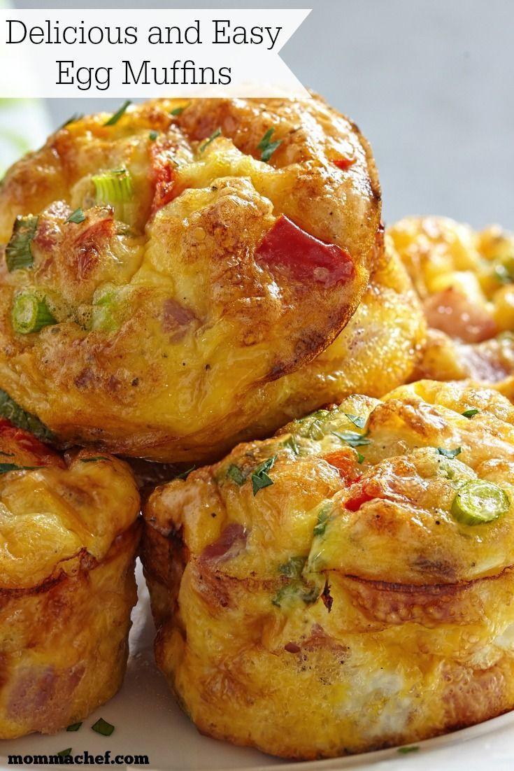 Breakfast Muffin Recipes  25 best ideas about Breakfast egg muffins on Pinterest
