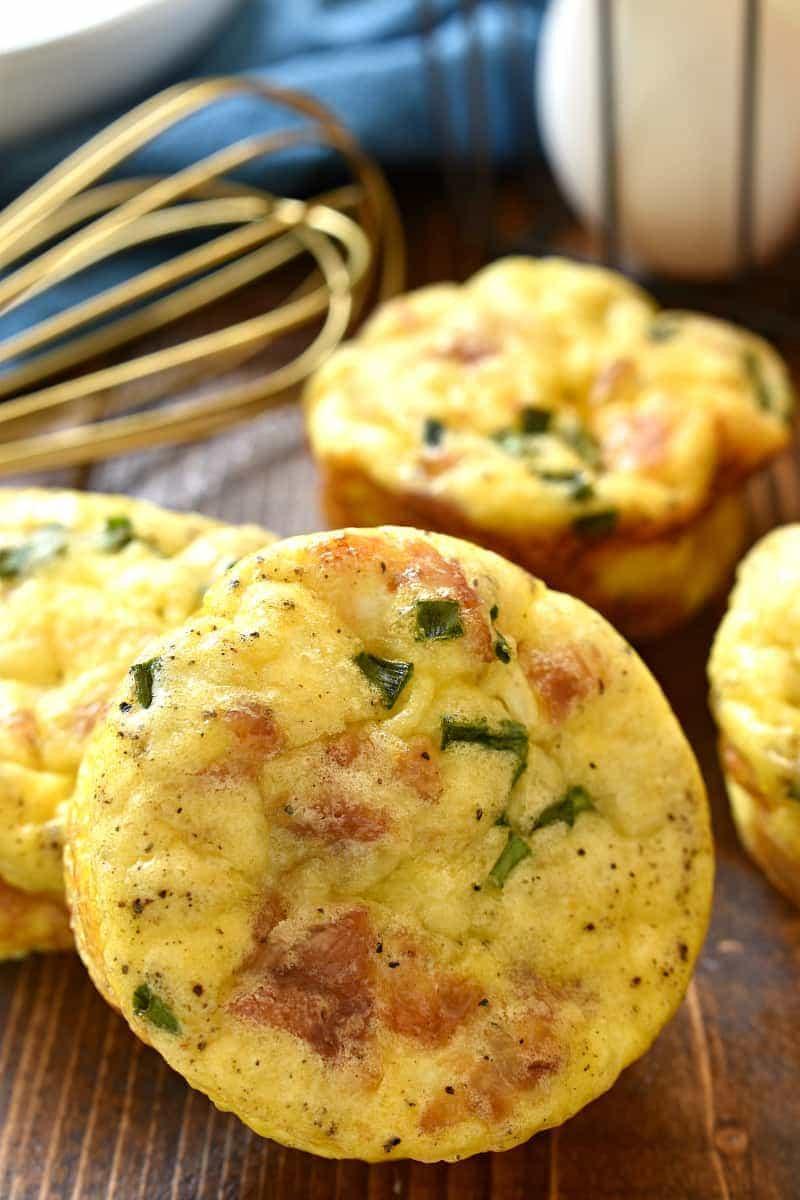 Breakfast Muffin Recipes  muffin tin breakfast eggs