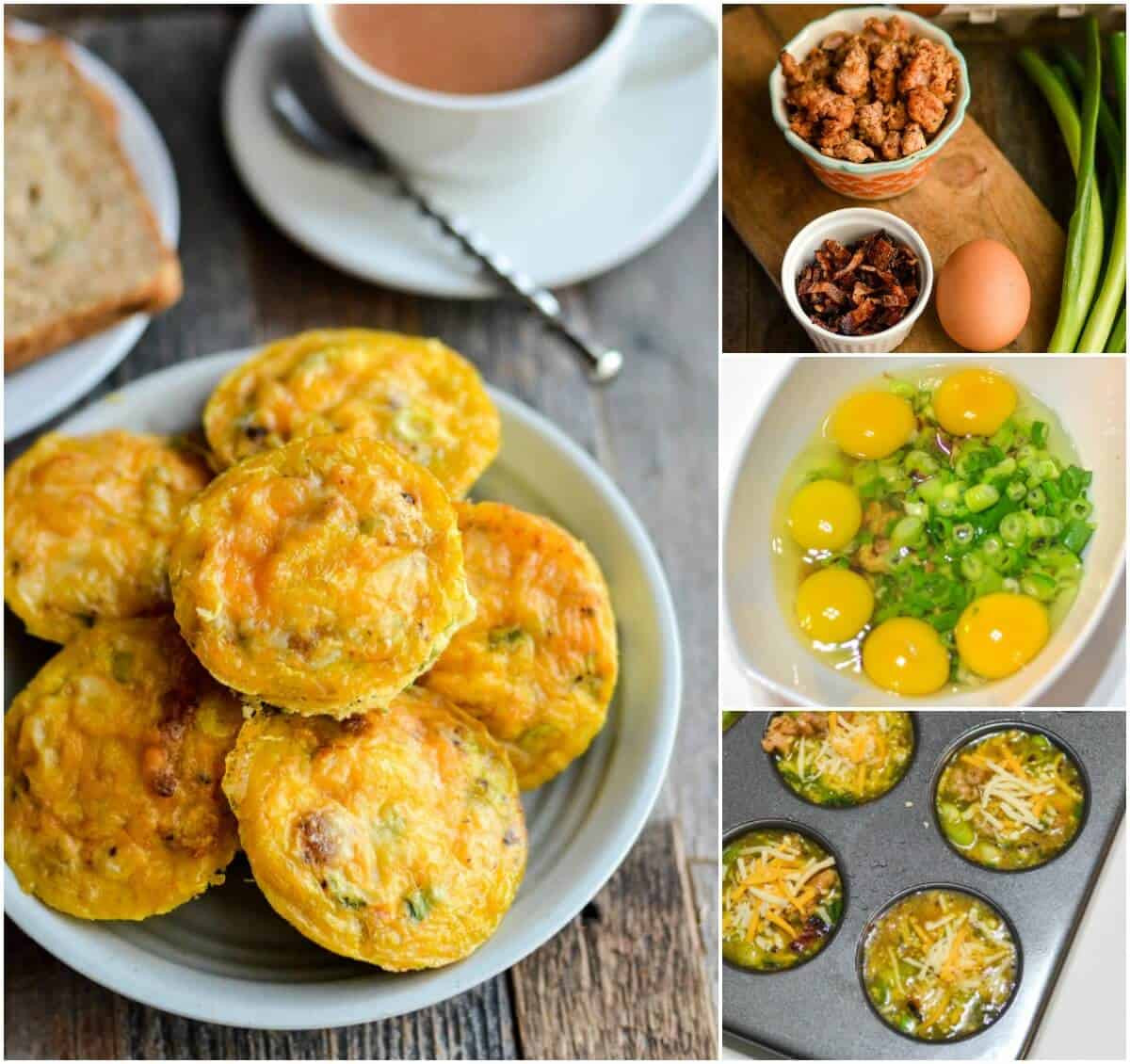 Breakfast Muffin Recipes  Quick & Easy Breakfast Egg Muffin Recipe DIY Candy