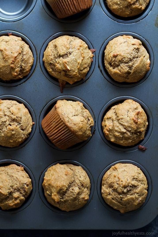 Breakfast Muffin Recipes  Skinny Banana Nut Muffins Breakfast