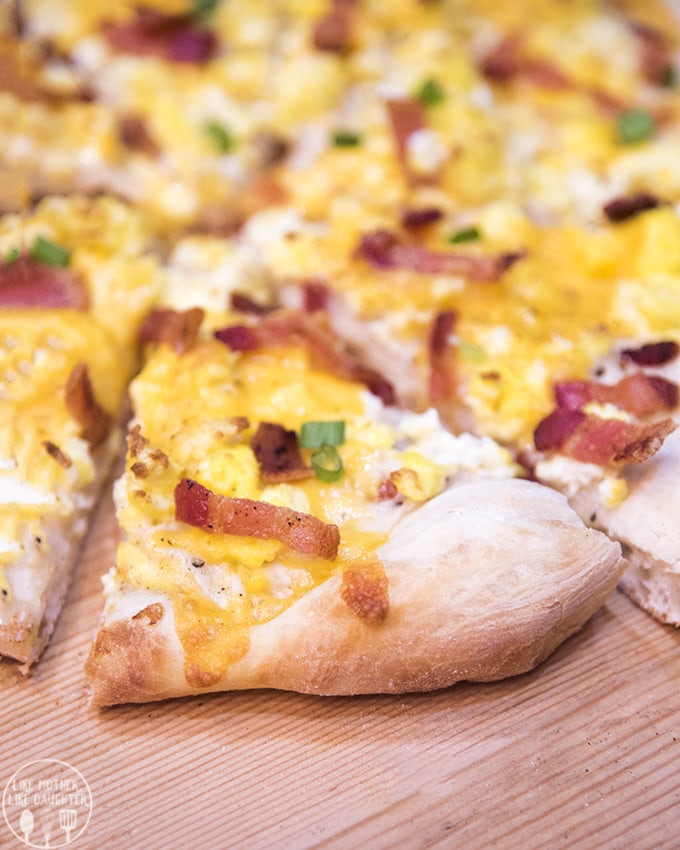 Breakfast Pizza With Gravy  Breakfast Pizza – Like Mother Like Daughter