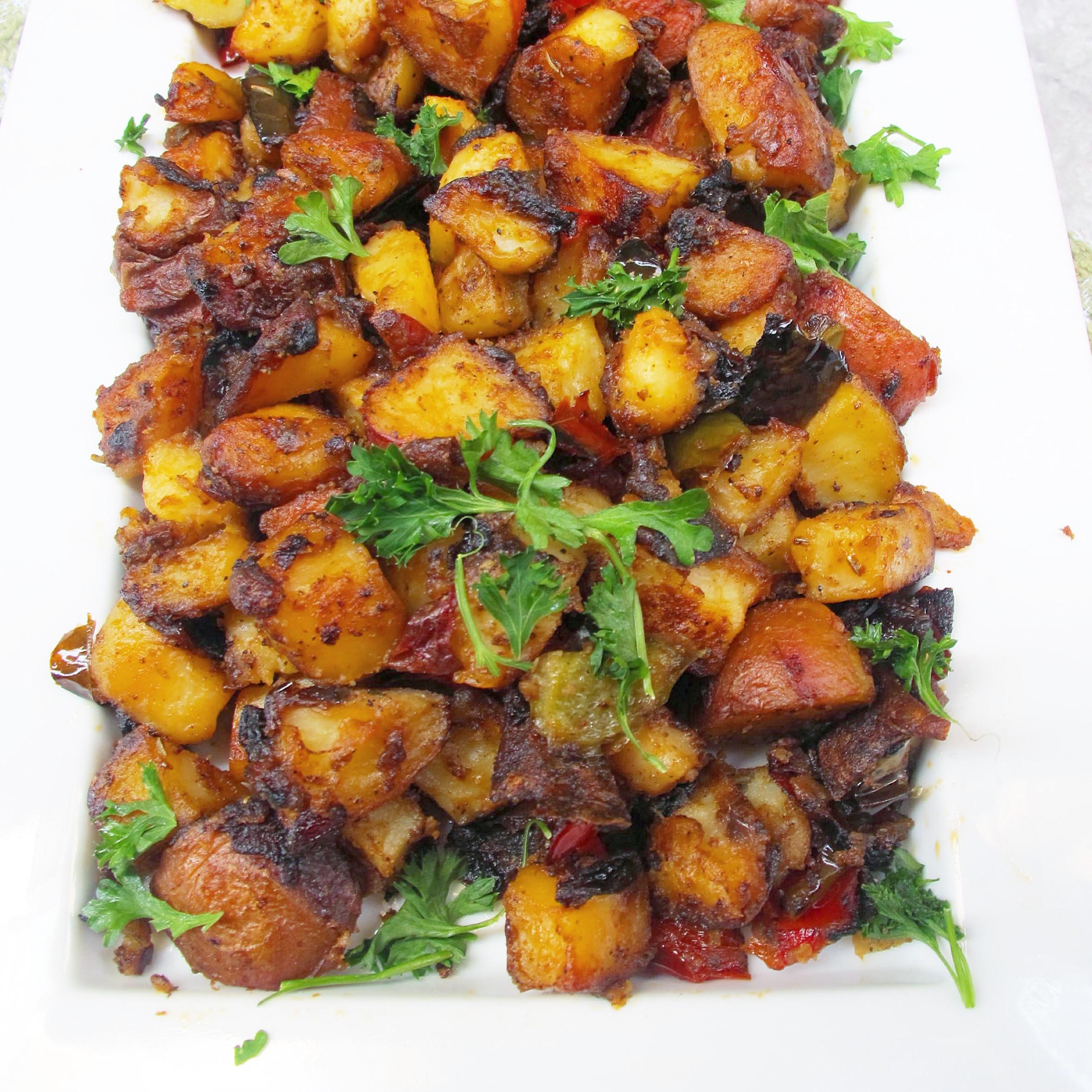 Breakfast Potatoes Skillet  Easy Skillet Breakfast Potatoes Ev s Eats