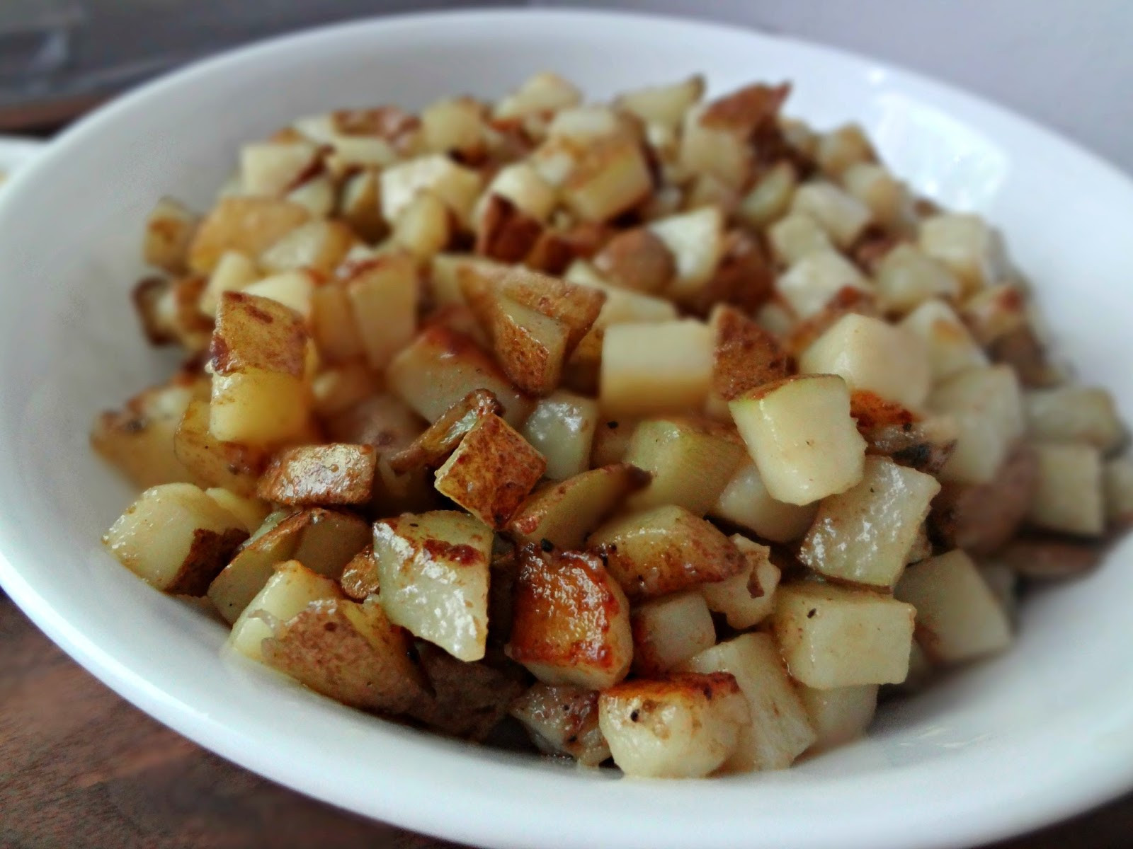 Breakfast Potatoes Skillet  The Cooking Actress Skillet Breakfast Potatoes