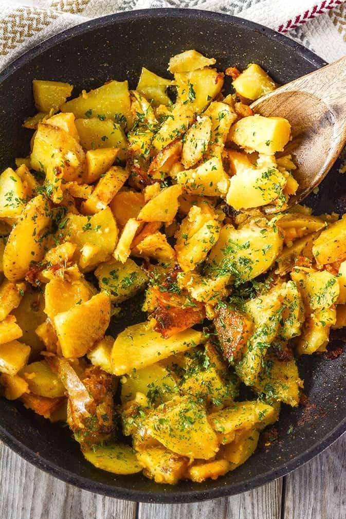 Breakfast Potatoes Skillet  skillet breakfast potatoes