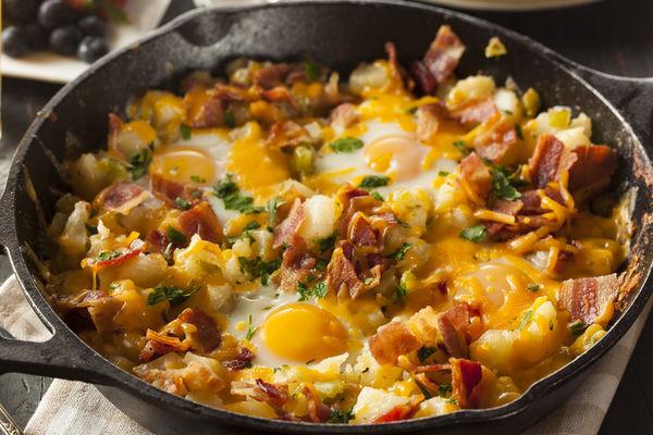 Breakfast Potatoes Skillet  The Ultimate Breakfast Skillet – 12 Tomatoes