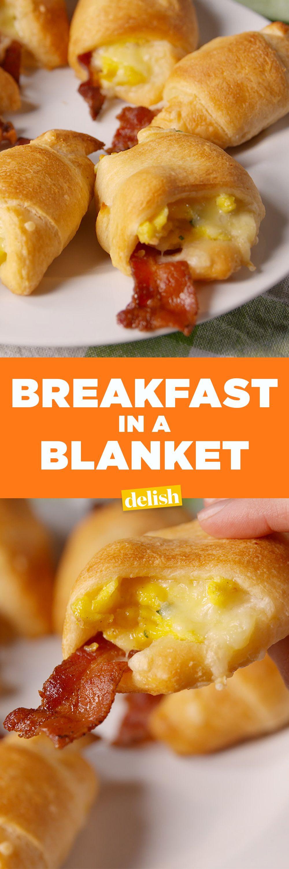 Breakfast Potluck Recipes  Breakfast in a Blanket Recipe